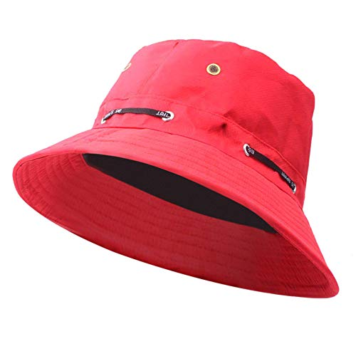 Cinhent Hat Adult Men Women Fashion Outdoor Sun Hat Travel Casual Pot Bucket Cap