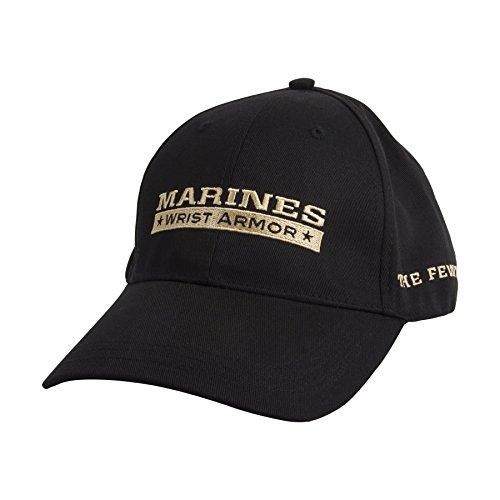 Wrist Armor United States Marine Corps. Adjustable Cap - Black