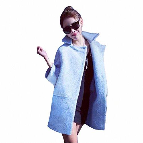 Bestellung große Vielfalt Stile Modern und elegant in der Mode Zicac Neue Fashion Damen Dicken Warm Wolle Lässig-Abschnitt ...