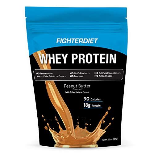 Fighterdiet - Whey Protein Peanut Butter - 32 oz