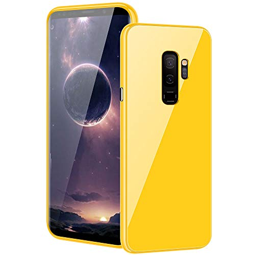 Mince Verre Rayures Etui 1 Magntique Jaune Anti Case Housse pour Couleur S9 Anti S9 Bumper Samsung PC Galaxy Adsorption Bonbon 2 en Protection Choc Plus Ultra Tremp Coque q6YCa