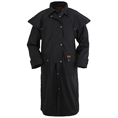 Outback Trading Unisex Low Rider Duster, Black, 3XL