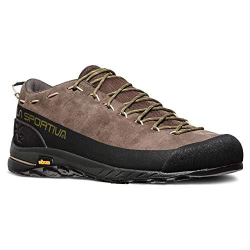 La Sportiva TX2 Leather Approach Shoe, Chocolate/Avocado, 44 ()