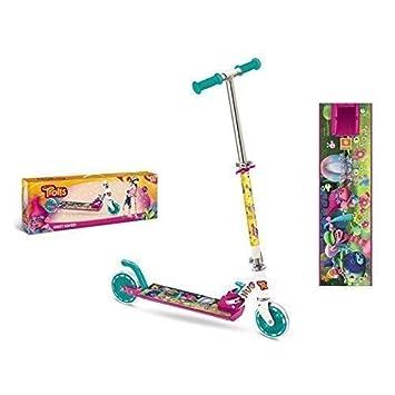 Aluminio - Scooter / Scooter / Patinete para Niños Dreamworks Trolls con Poppy y Amigos