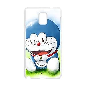 Doraemon Samsung Galaxy Note 4 Cell Phone Case White yyfabc-613808