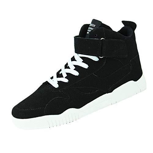 kaifongfu Men's Sports Shoe Comfortable Non-Slip Basketball Sneakers ()