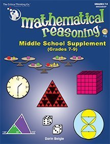 Mathematical Reasoning Middle School Supplement - Solving Non-Routine Problems (Grades ()