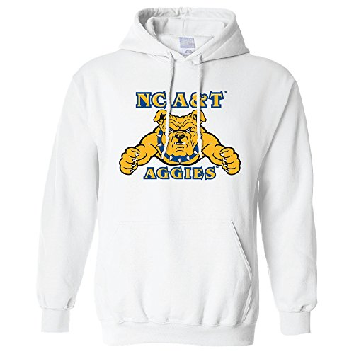 Campus Merchandise NCAA North Carolina A&T Aggies Long Sleeve Hoodie, Large, ()