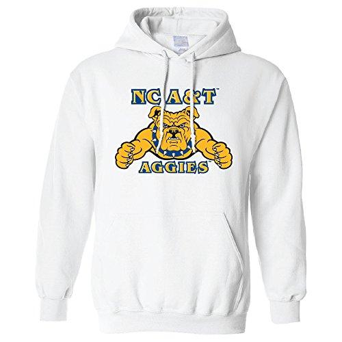 Campus Merchandise NCAA North Carolina A&T Aggies Long Sleeve Hoodie, Medium, ()