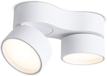 Skingk Faros dobles montados en la pared Lámpara de luz de techo ...