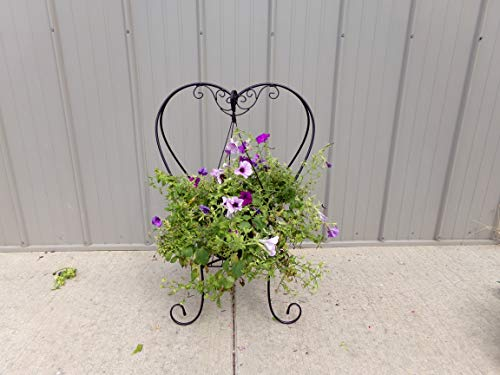 Heart Shaped Folding Plant Stand