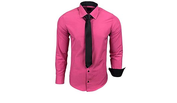 Camisa de la marca Rusty Neal R-44-KR, con corbata. Ideal ...