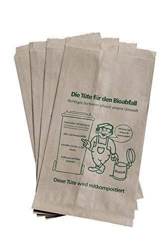 10 PGV - Bolsas marrón 9,5 L Residuos Orgánicos (Compost ...