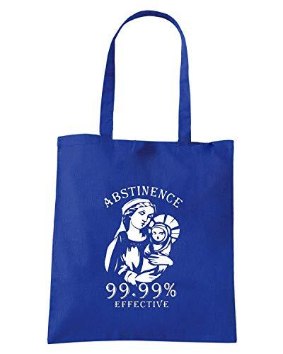 Borsa Shopper Royal Blu FUN0489 ABSTINENCE