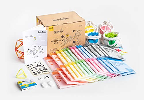 Strawbees STEAM School Kit | 4096 Color-Coded Pieces | Perfect for a Classroom -