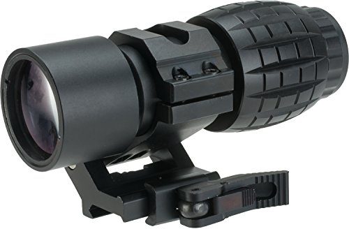 Evike Avengers Tactical 3X Magnifier Scope with QD Flip-to-Side Mount by Evike