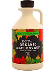 Honest to Goodness Organic Maple Syrup, 1 Liters