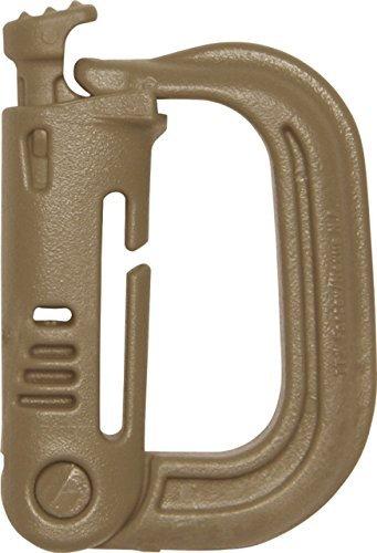 Maxpedition Grimloc Carabiner - Maxpedition Grimloc Locking D-Ring, Desert Tan