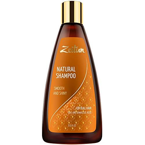 Zeitun Natural Shampoo - Damascus Rose Oil Shampoo - Deep Cl