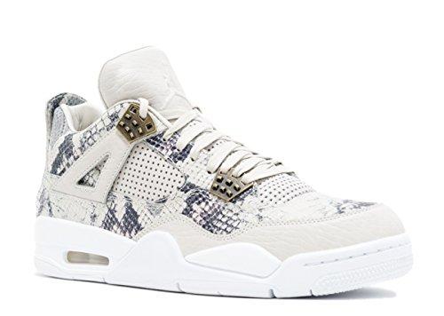 Air Jordan 4 Retro ''Light-Bone'' Premium 819139 030 Snakeskin Men's Size 11 (Bone Snake Footwear)