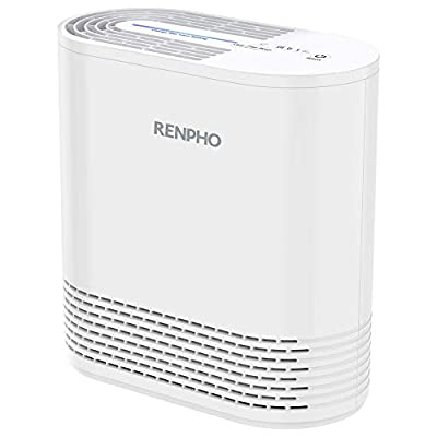RENPHO Air Purifier for Home Allergies and Pets,Air Purifiers for Bedroom with True HEPA Filter for Smokers Office Child Room, Eliminates Allergens Odors Mold Dust Pet Dander,RP-AP068