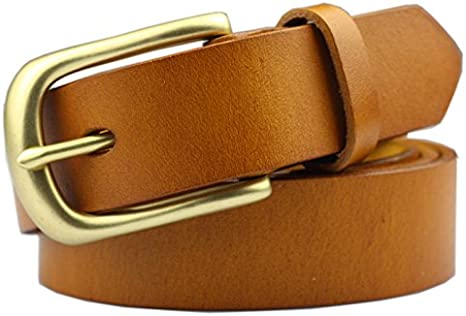 Las Mujeres de Piel Cinturones de Cobre Puro Metal Allergy
