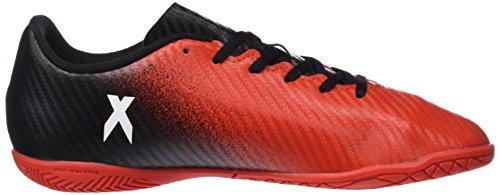 adidas X 16.4 In J, Botas de Fútbol Niños red/ftwwht7cblack