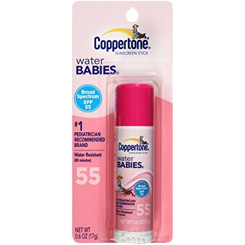 Coppertone SPF#55 Waterbabies Stick 17 gm by Coppertone by Coppertone