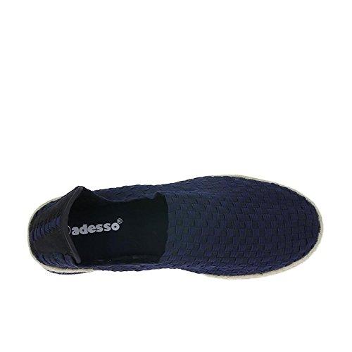 Adensco Adesso Regan - Navy (Textile) Womens Shoes QhWOQ