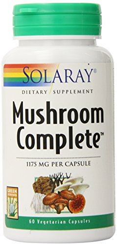 (Solaray Mushroom Complete Supplement, 1175 mg, 60 Count)