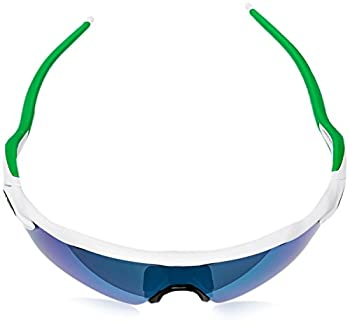 Oakley Men's Radar Ev Path Non-polarized Iridium Rectangular Sunglasses, Polished White Wjade Iridium, 138 Mm 3