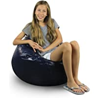American Furniture Alliance Fun Factory Classic Bean Bag, Small, Navy