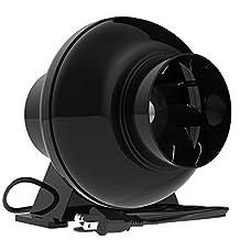 "VIVOSUN 200 CFM 4"" Inch Inline Ventilation Duct Fan"