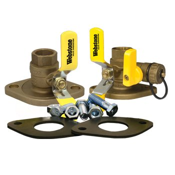 Webstone 1 1/4 Isolator Circulator Installation Kit w/ Rotating Flange 4141WKIT Series by Webstone