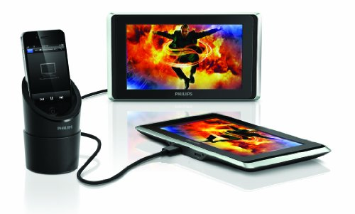 Philips PV7002i/37 TwinPlay 7-Inch Dual Screen In-Car Video Viewer for iPod, iPhone and iPad (Discontinued by Manufacturer) ()