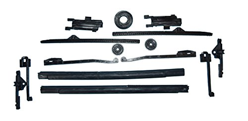 LE REPLACEMENT FREELANDER SUNROOF GUIDE RAIL SET LH RH 2002-2005 (Land Rover Sunroof)