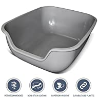 [NEW] PetFusion BetterBox LARGE Litter Box (single). STRONGER ABS plastic. NON-STICK COATING for superior hygiene & easier cleaning