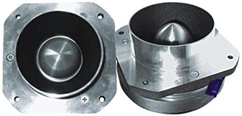 Super Titanium Tweeter - 850 Watts, Peak Power, Ferro Fluid Enhanced, Hardware Included, Fits All Woofer Enclosures - Replacement Subwoofer Part - By GMI - Specs Titanium Frames