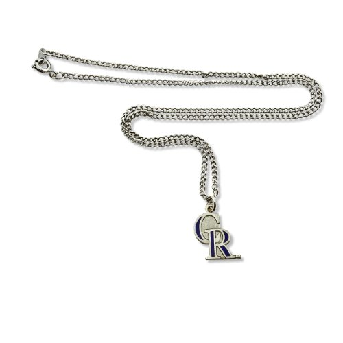 Necklace Logo Team - MLB Colorado Rockies Team Logo Necklace