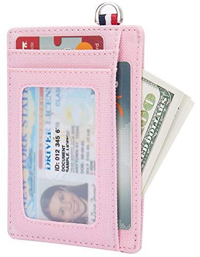 Small RFID Blocking Minimalist Credit Card Holder Pocket Slim Wallets for Men & Women ()
