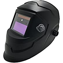 Blank&Black Solar Auto Darkening Welding Helmet LYG-J600L with LED Light, ANSI Approved