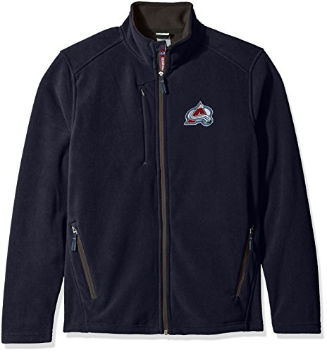 Levelwear NHL Colorado Avalanche Women's Alpine Team Text Jacket, X-Large, Navy
