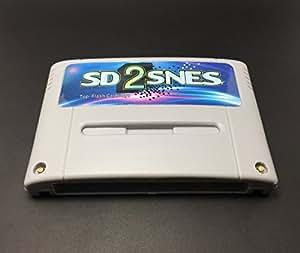 Cartucho Flashcard Sd2snes Krikzz Super Nintendo +2 Mil Jogos