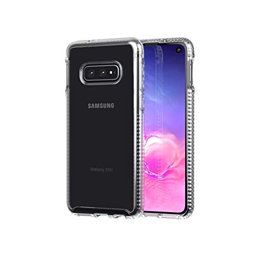 tech21 Pure Clear for Samsung Galaxy S10e – Clear – Mobile Phone Case with Near Perfect Transparency – Ultra-Thin…