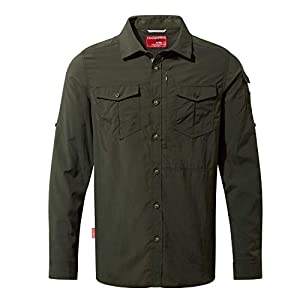 Craghoppers Men's NosiLife Adventure II Insect Repellent Long-Sleeved Shirt