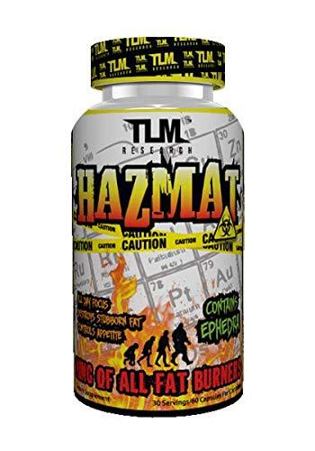 (TLM Research HAZMAT Ultimate Fat Burner (30 Serving))