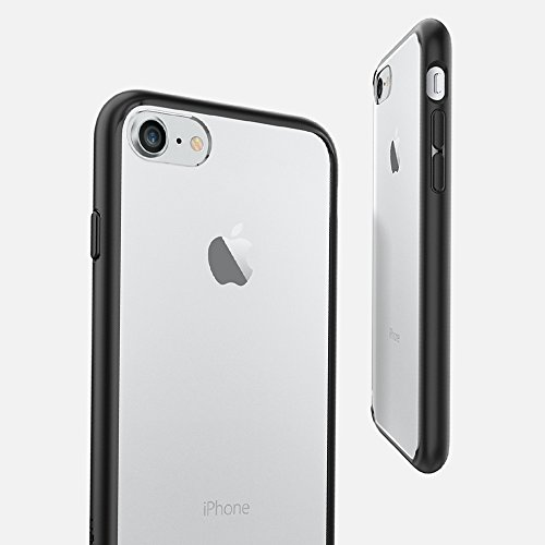 super popular 492d1 bcbb9 Spigen iPhone 7 case, ultra hybrid bubble technology, clear back case and  TPU bumper for iPhone 7