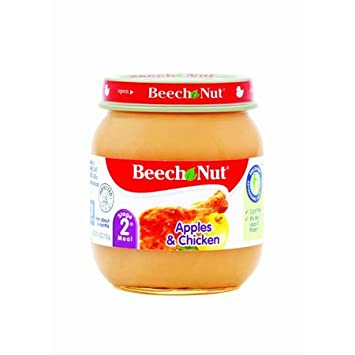 Amazon Beech Nut Stage 2 Apples Chicken Baby Food Dinners