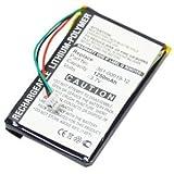 subtel® Batterie pour Garmin Edge 605, Garmin Edge 705 - 1250mAh batterie de rechange Garmin 361-00019-12