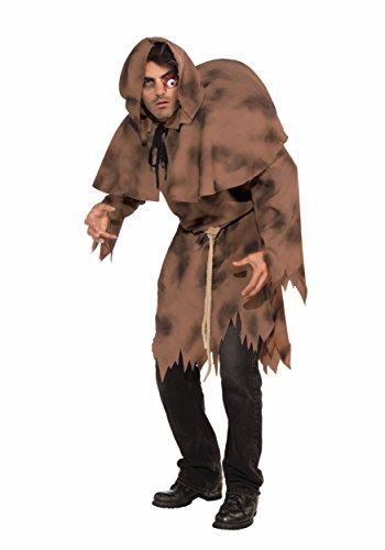 Damen Costumes (Forum Novelties Men's Adult Hunchback Costume, Brown, One Size)